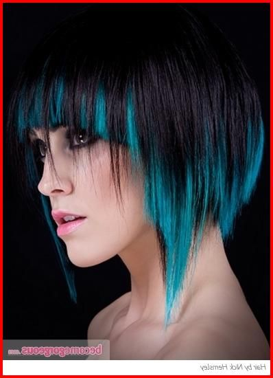 50 Blue Hair Highlights Ideas Blue Highlights Are Becoming More And More Popular As People Beco Futuristic Hair Hair Color For Black Hair Blue Hair Highlights
