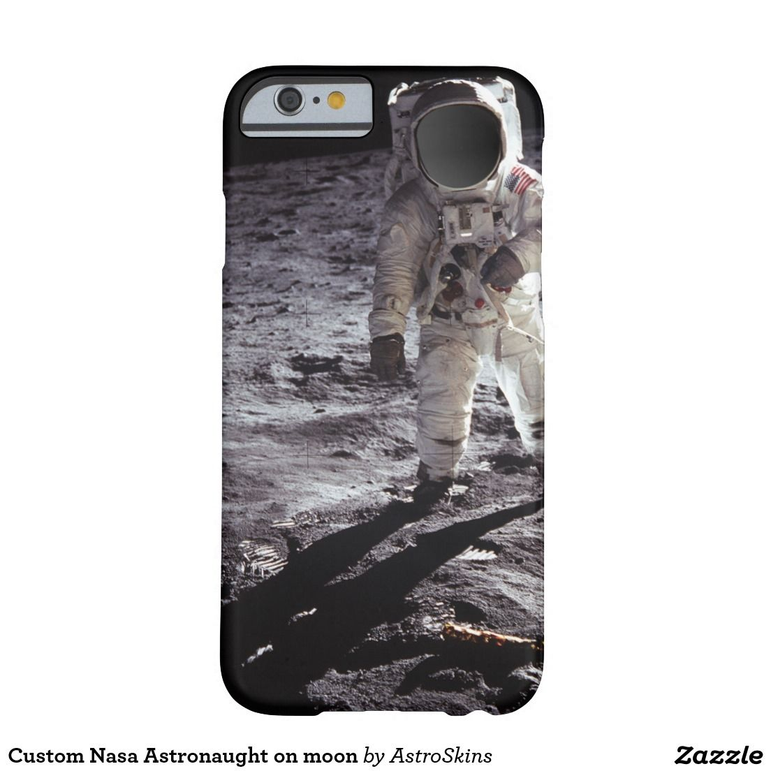 BUZZ ALDRIN ON THE MOON NASA 2 iphone case