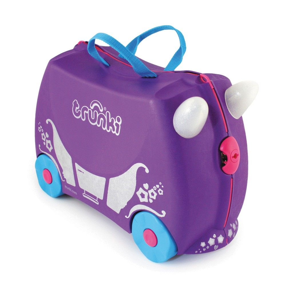 727aec8d410f Details about Trunki Trixie Ride On Hand Luggage Pull Along Suitcase ...