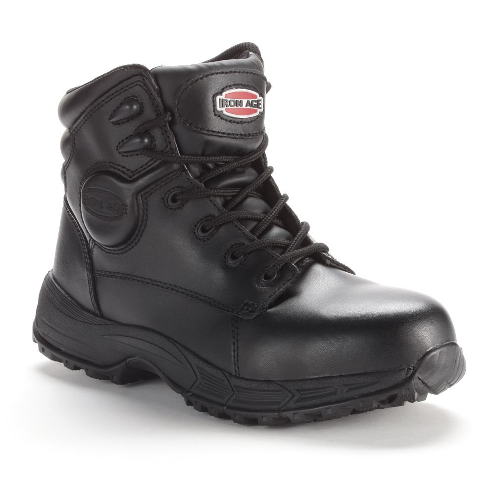 Iron Age Sport Men's Steel-Toe ... Work Boots oQpKb