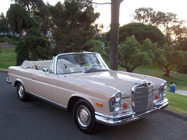 1968 Mercedes Benz 250se Cabriolet This Is My Ultimate Dream Car None Finer