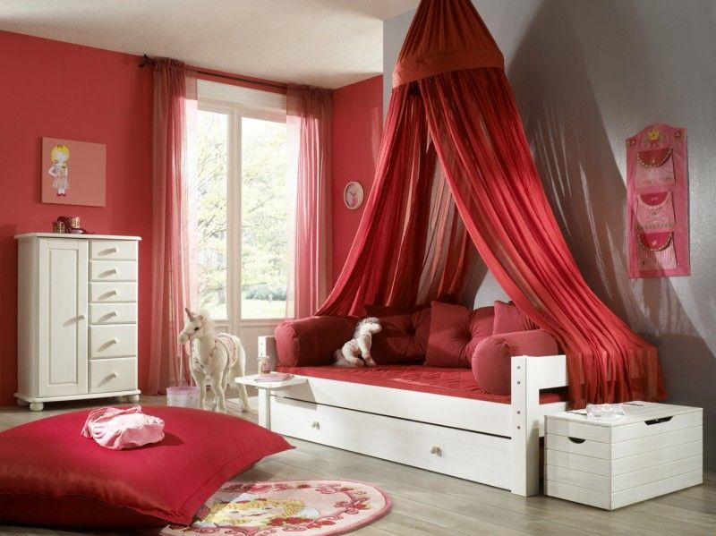 Mädchenzimmer Rot