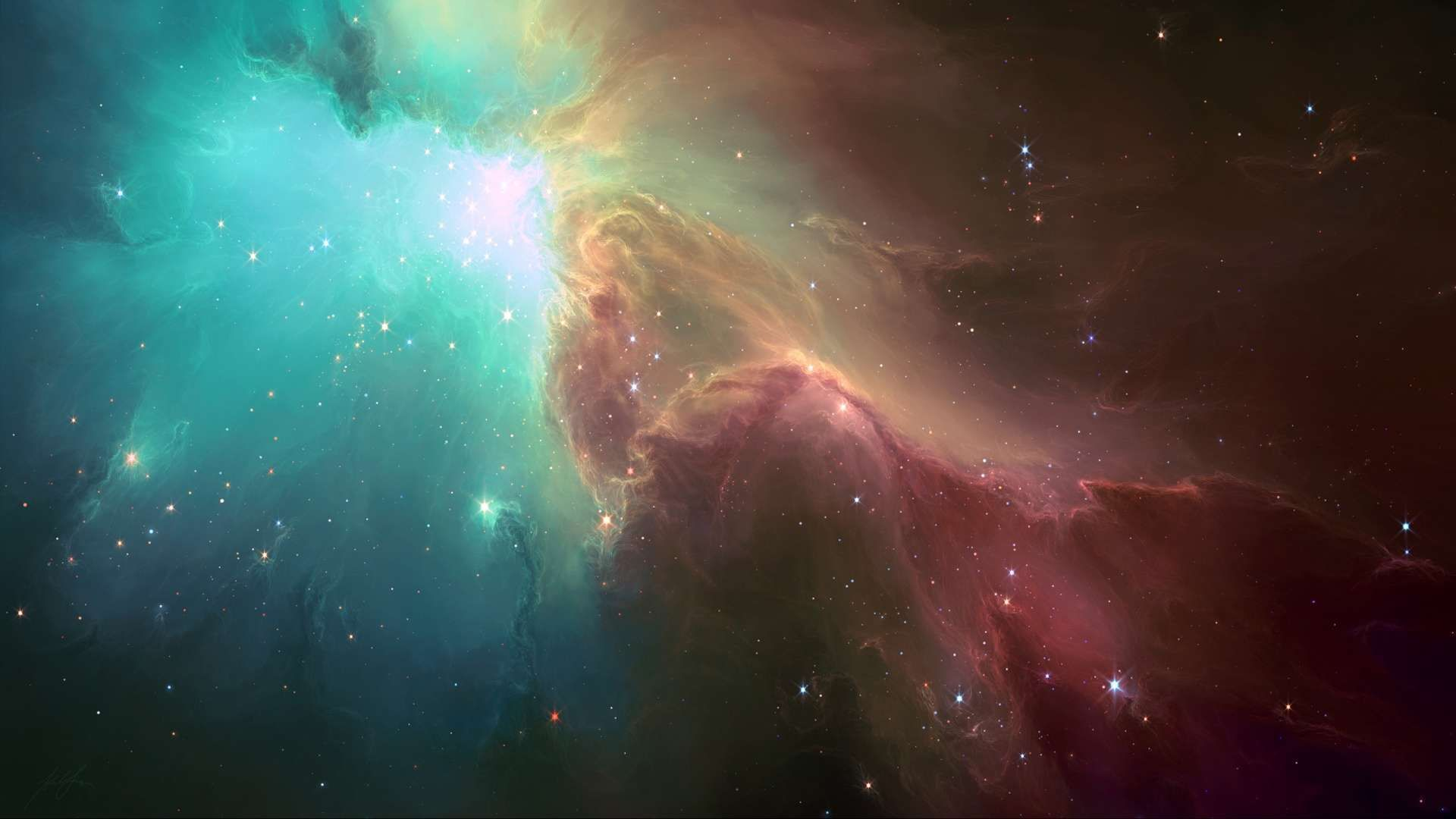 Nebulae Sky HD Wallpaper 1080p | Stuff to Buy | Pinterest ...