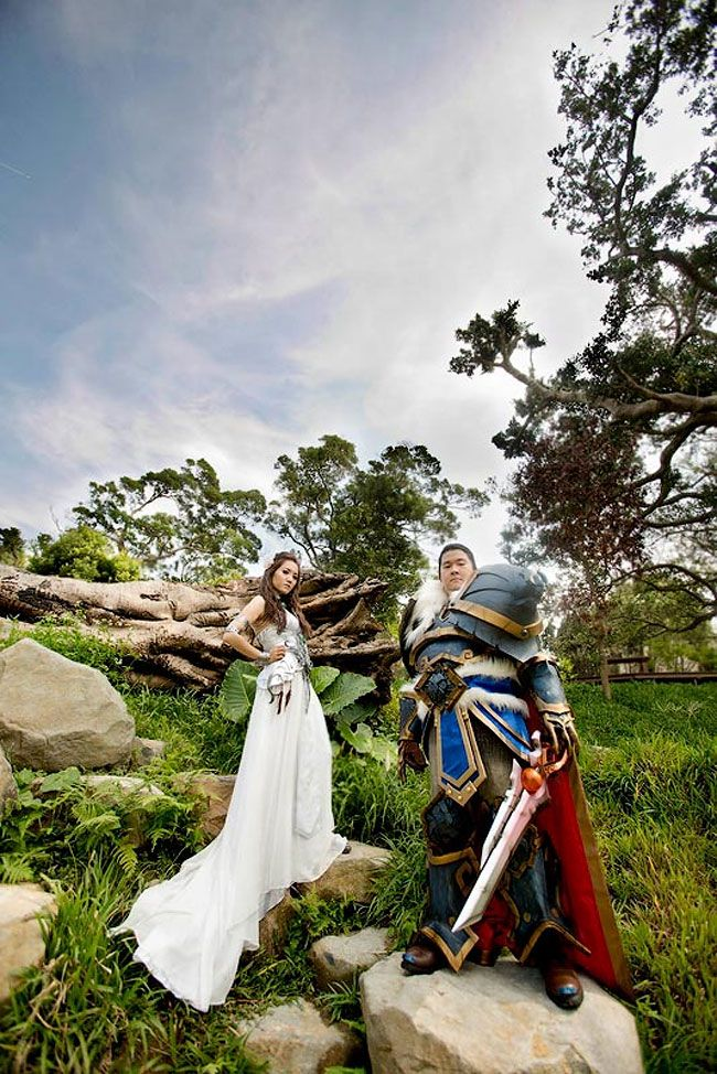 The Source Of Inspiration Geeky Wedding World Of Warcraft Gamer Wedding
