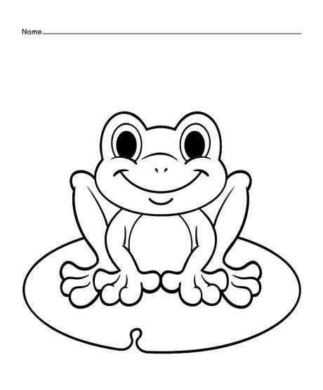 frosch malvorlage kostenlos  tiffanylovesbooks
