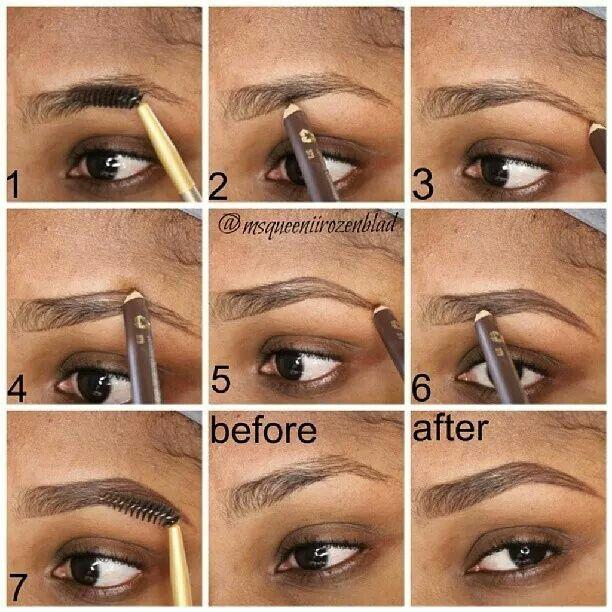 How To Shape Your Eyebrows Eyebrow Makeup Perfect Eyebrows Eye Makeup