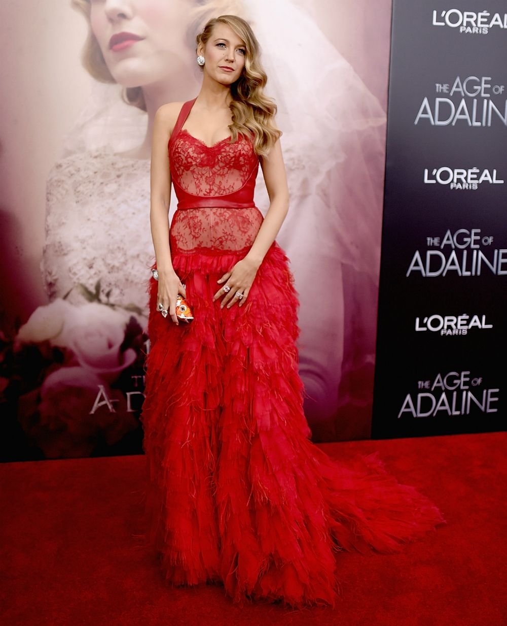 Blake Lively channeling majorly chic Melisandre vibes