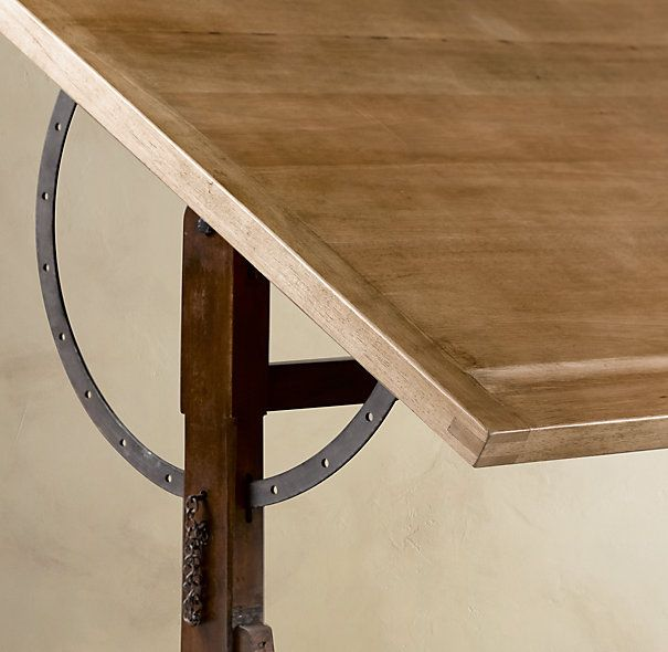 Restoration Hardware 1920s French Drafting Table