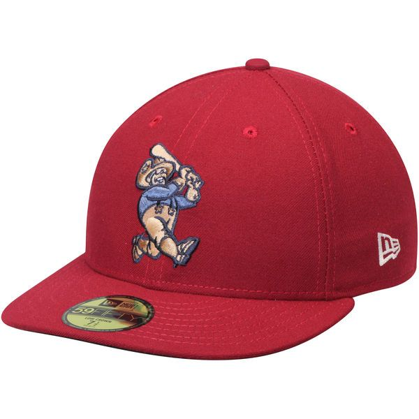 low profile baseball hats fitted new era alternate authentic collection on field hat crimson cap