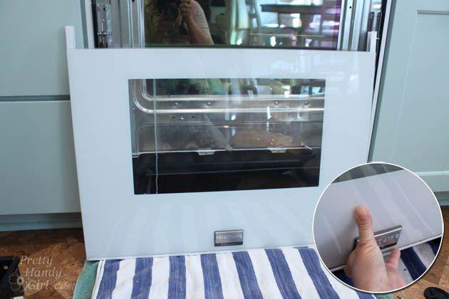 How To Clean Inside Your Oven Door Oven Doors And Household