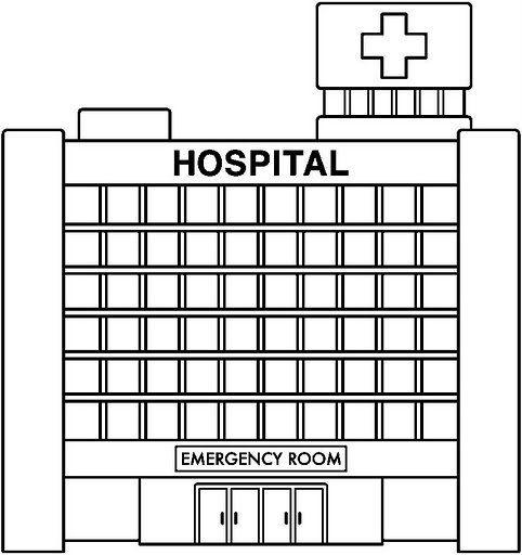 moldes maqueta hospital - Buscar con Google | maquetas | Pinterest