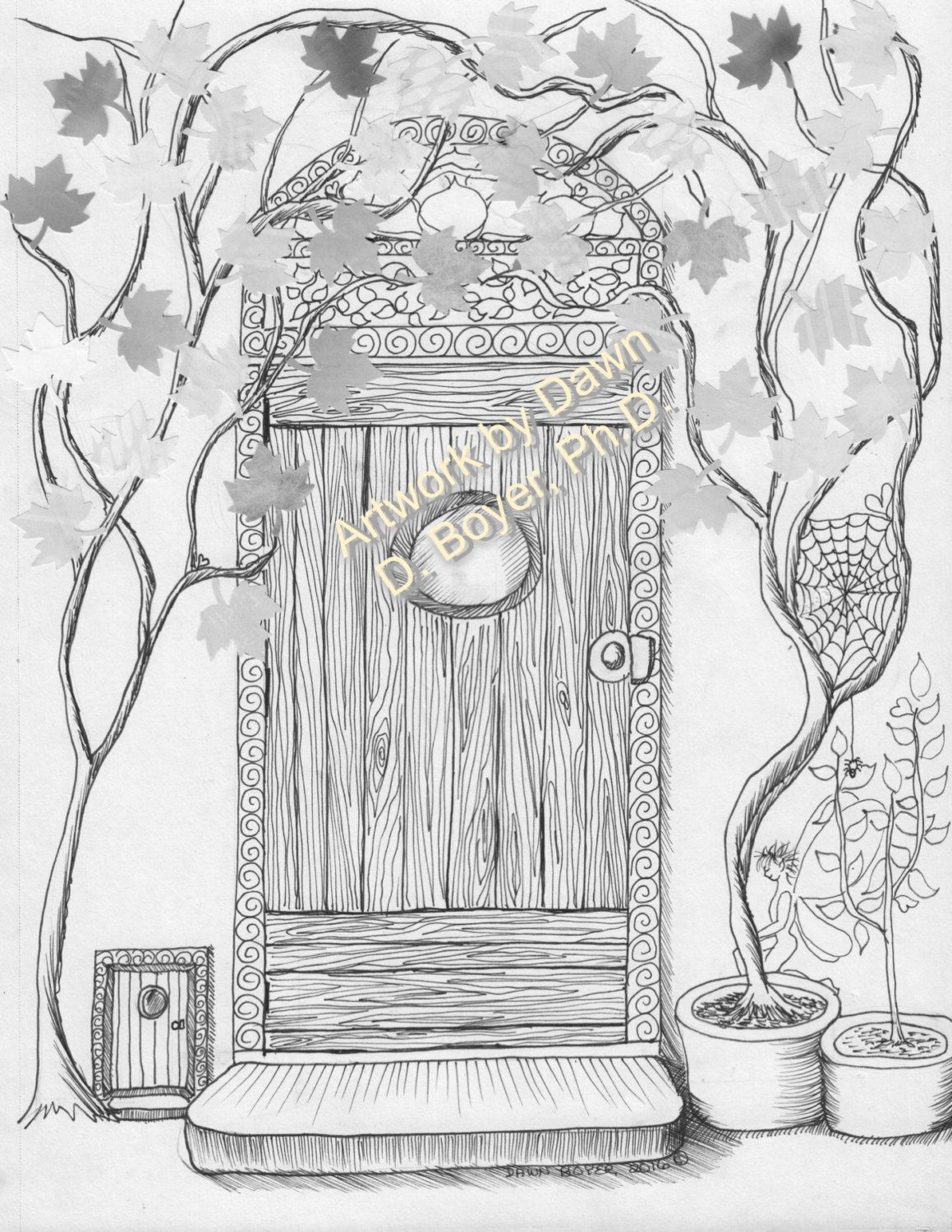 Fairy Houses And Doors Vol 3 4