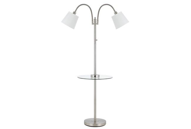 Floor Lamp Gooseneck With Table Grey 275 Floor Lamp
