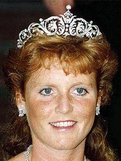 tiara mania york diamond tiara worn by sarah duchess of