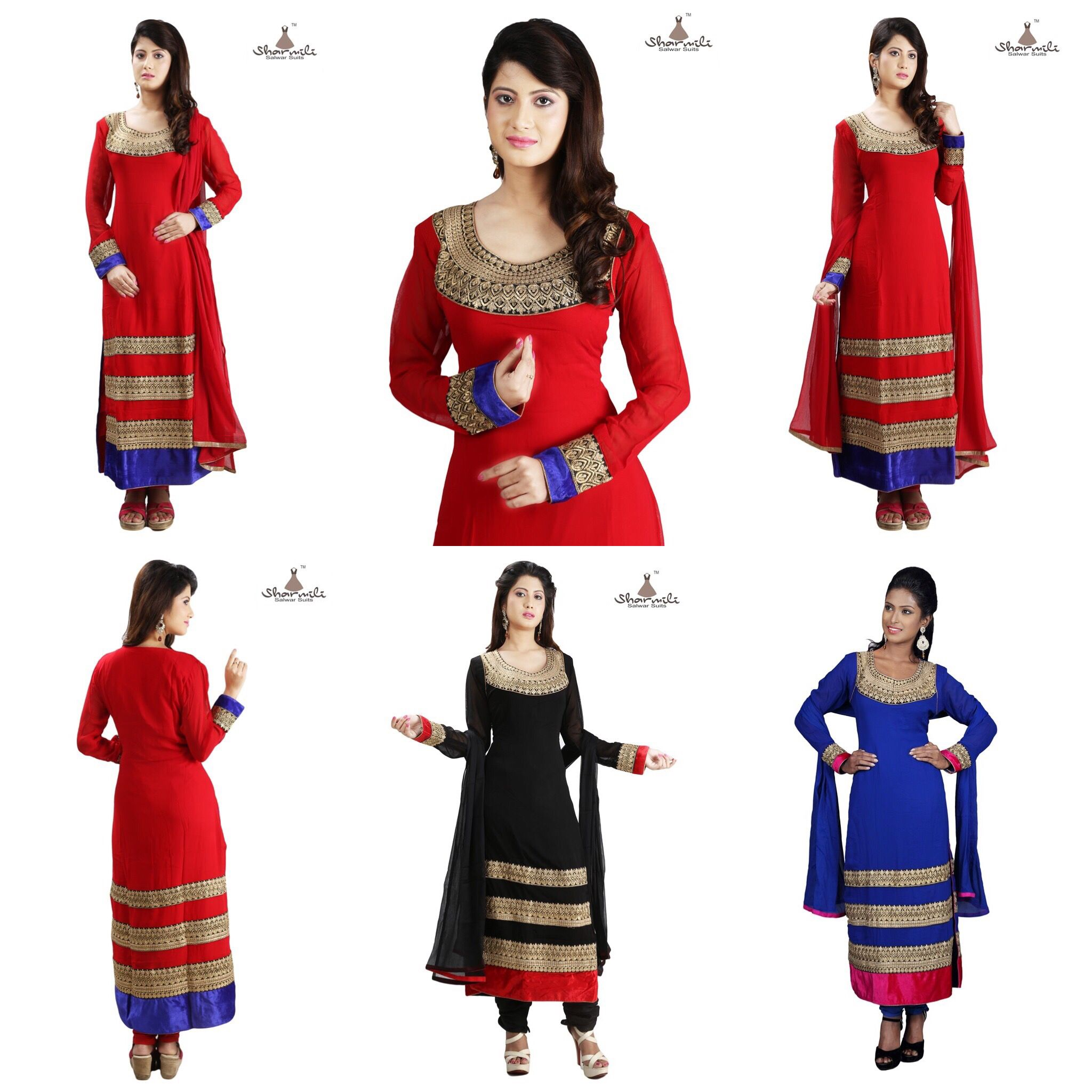 off on new arrival pure georgette ready made stitched salwar