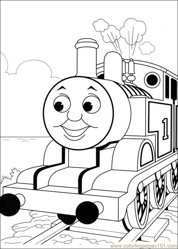Free coloring pages thomas and friends thomas and friends 52