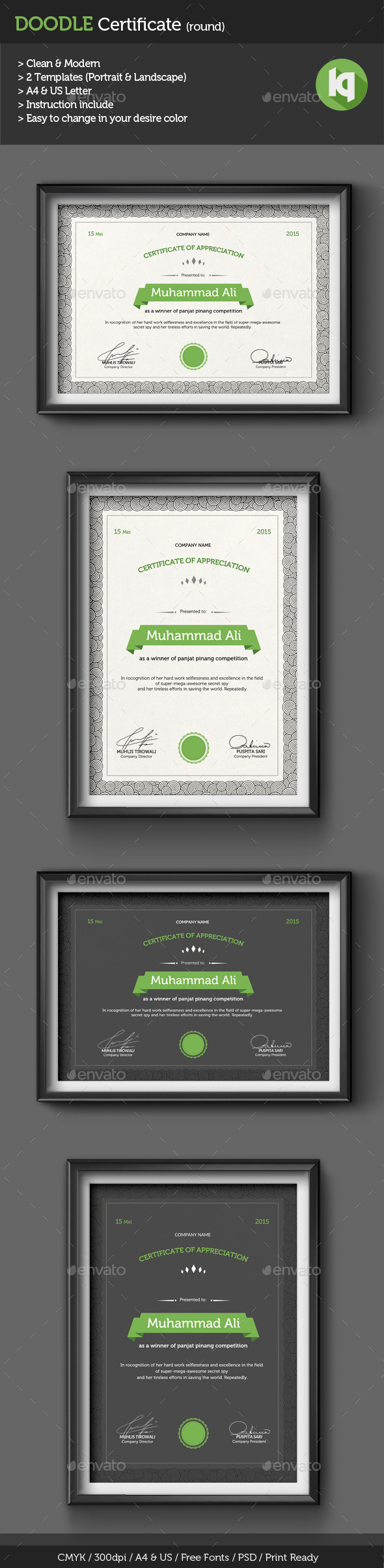 Doodle certificate a4 us template psd download here http doodle certificate a4 us template psd download here httpgraphicriver yadclub Images