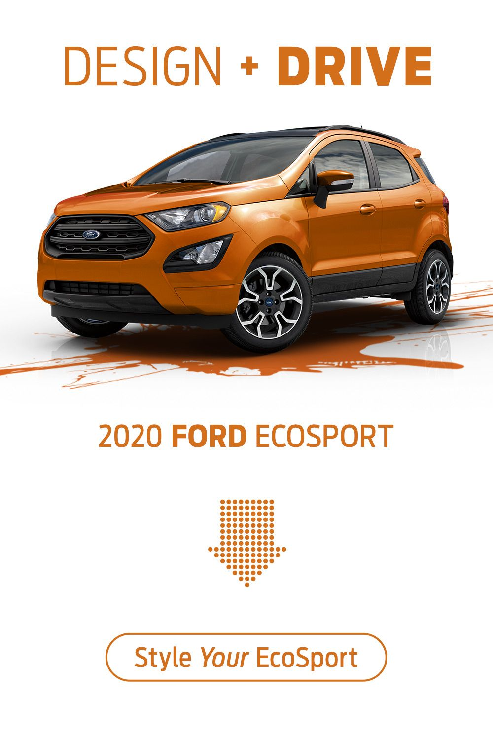 The 2020 Ford EcoSport has the features you need
