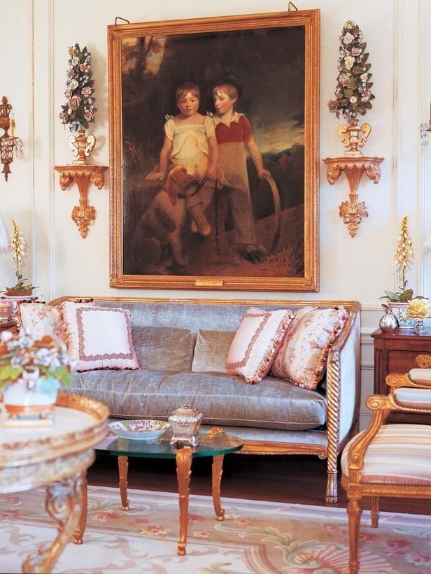 Charles Faudree Interiors Cicharlesfaudreeinteriorspg48sofa Stunning Beautiful Living Rooms Traditional Painting