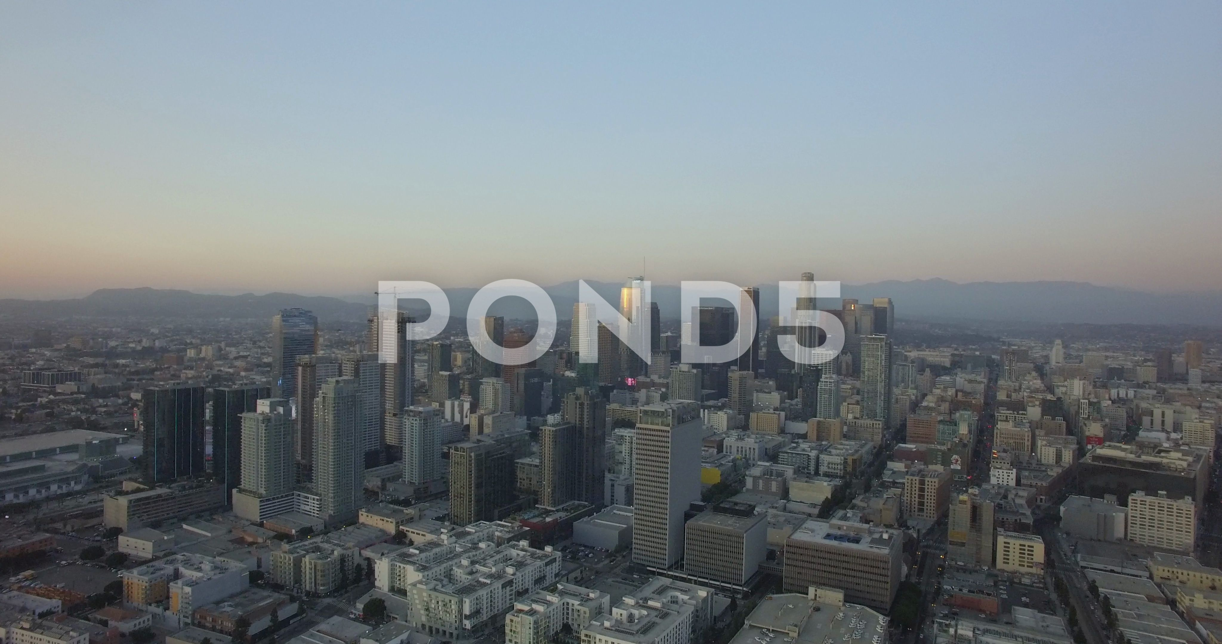 Aerial Drone Of Downtown Los Angeles Skyline 4k Stock Footage Ad Downtown Los Aerial Drone Los Angeles Skyline Aerial Drone Skyline