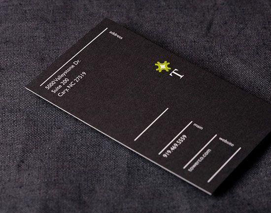 65 Minimalist Vertical Business Card Designs | Verticals, Designs ...