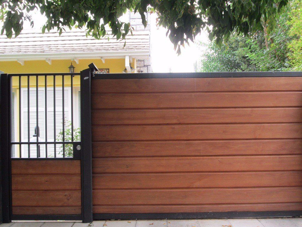 Portones de madera buscar con google casa pinterest for Puertas y portones de madera