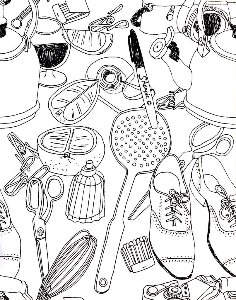 How to make a repeat pattern. 5 Steps to Illustrating a