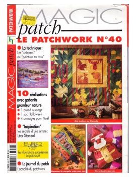 Magic Patch - Il PAtchwork № 40   Quilt - Books and Magazines ... : magic patch quilting - Adamdwight.com