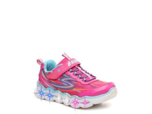 Skechers S Lights Lumos Girls' Light Up Sneakers