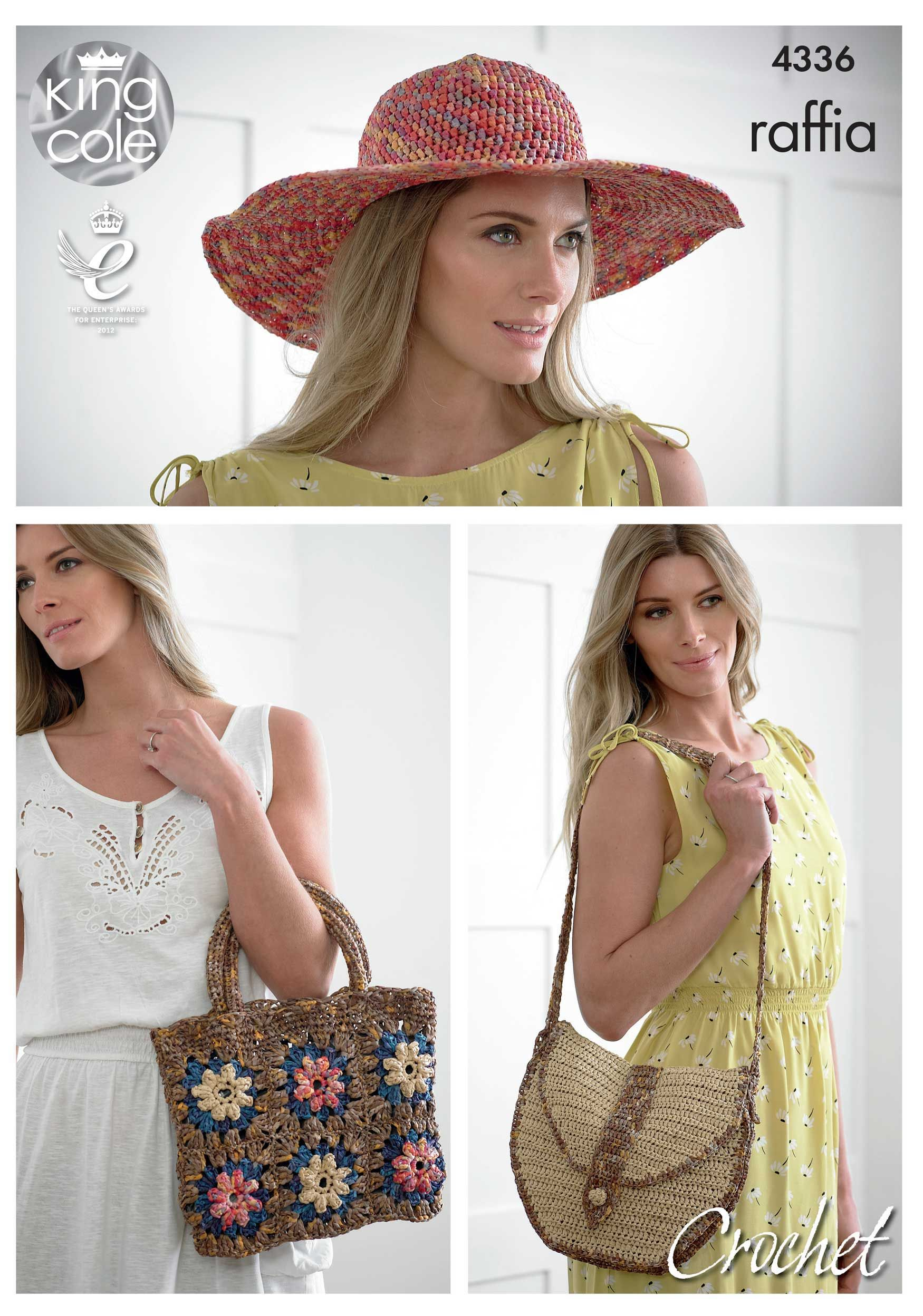 Crocheted Hats and Bags - King Cole   Fancy Yarns   Pinterest