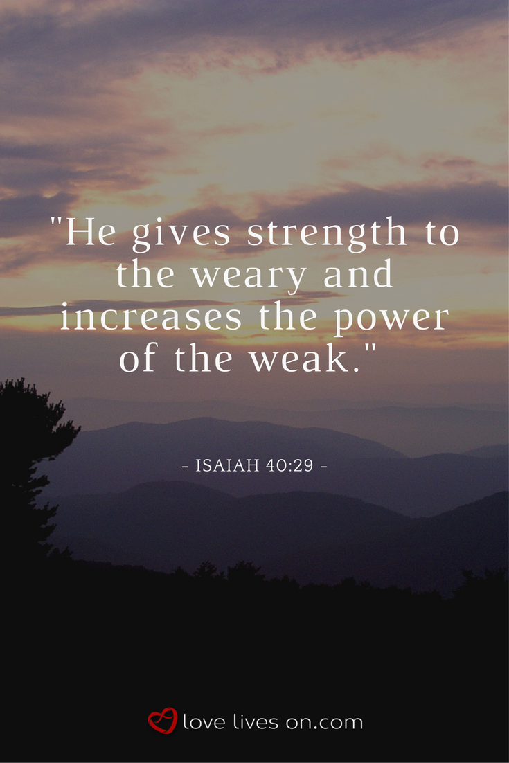 Best Bible Quote For Strength