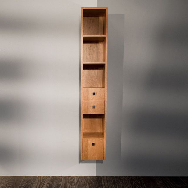 Lacava Plaza Bathroom Storage Cabinet - modern - bathroom storage - other metro - LACAVA.these would make good side shelves for our bed to replace the ... & Great Bathroom Storage Ideas for Small Bathrooms : Small Bathroom ...