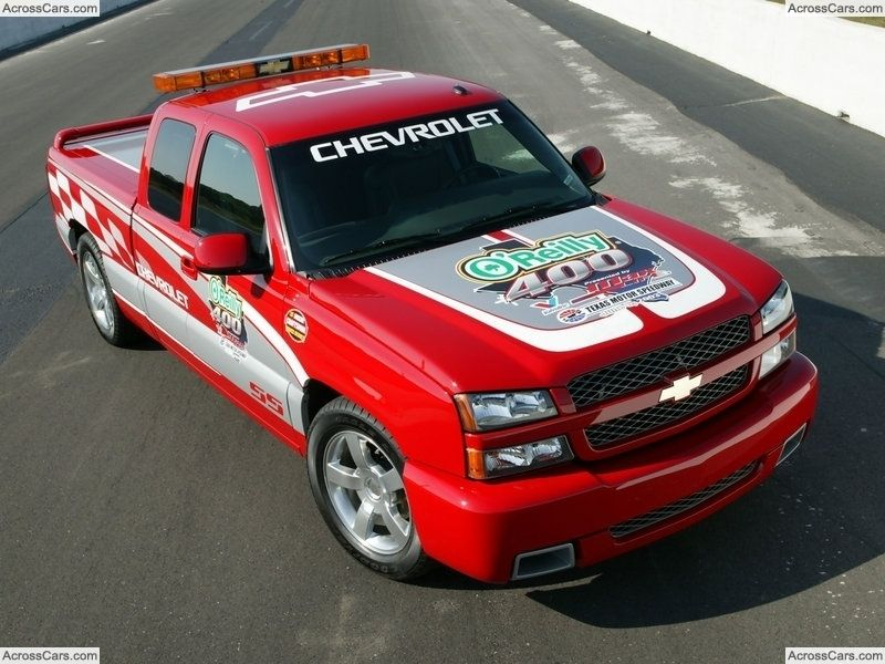 Chevrolet Silverado Ss Pace Truck 2003 Chevrolet Pinterest