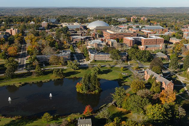 """""""CM's (College Magazine's) Top 10 Greenest Campuses""""   By: Daniel Kuhn   April 30, 2015"""