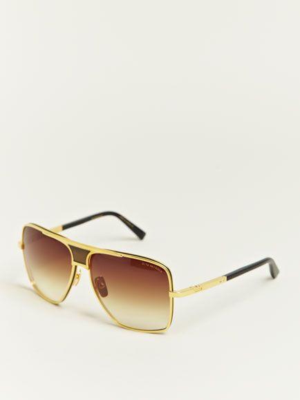 14cddcd7aa67 Dita Men s Eighteen Carat Gold Matador Sunglasses