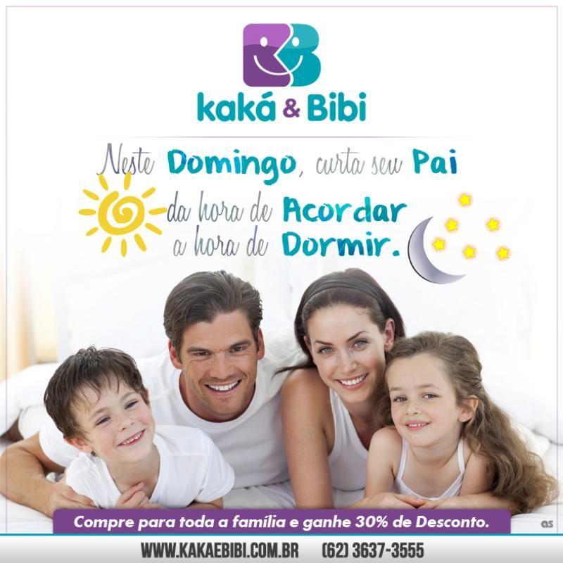 Pra quem gosta de promoção, a Kaká e Bibi é o lugar certo. Aproveite o nosso desconto de 30% nas compras para toda a família. Vai perder?