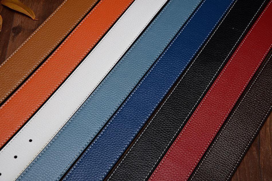 "Hot sell Fashion Men Women Belts Genuine Leather""H"" Buckle Waist Belt Waistband"