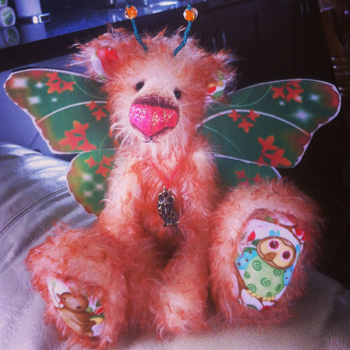 Rafferty One of a Kind by Chloe Summerville of Dusty Attic Bears & Rafferty One of a Kind by Chloe Summerville of Dusty Attic Bears ...