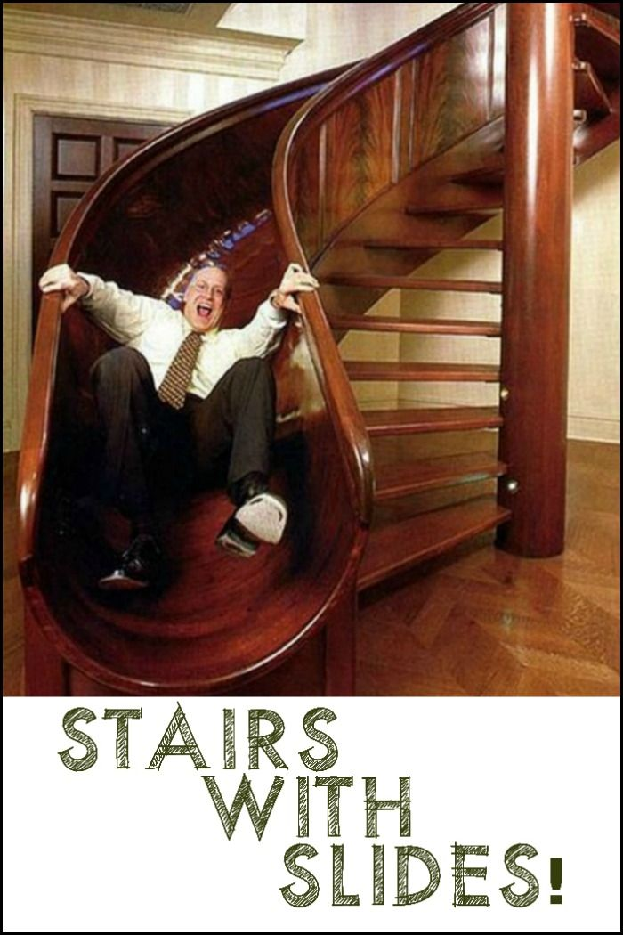Awesome Stairs With Slides House Staircase Stair Slide Staircase Slide