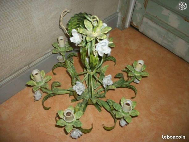 Lustre floral MINIATURE  IDEES DECORATION Pinterest