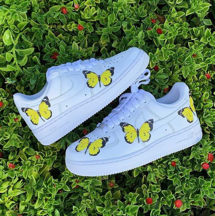 Butterfly Shoes dripcreation Custom nike shoes
