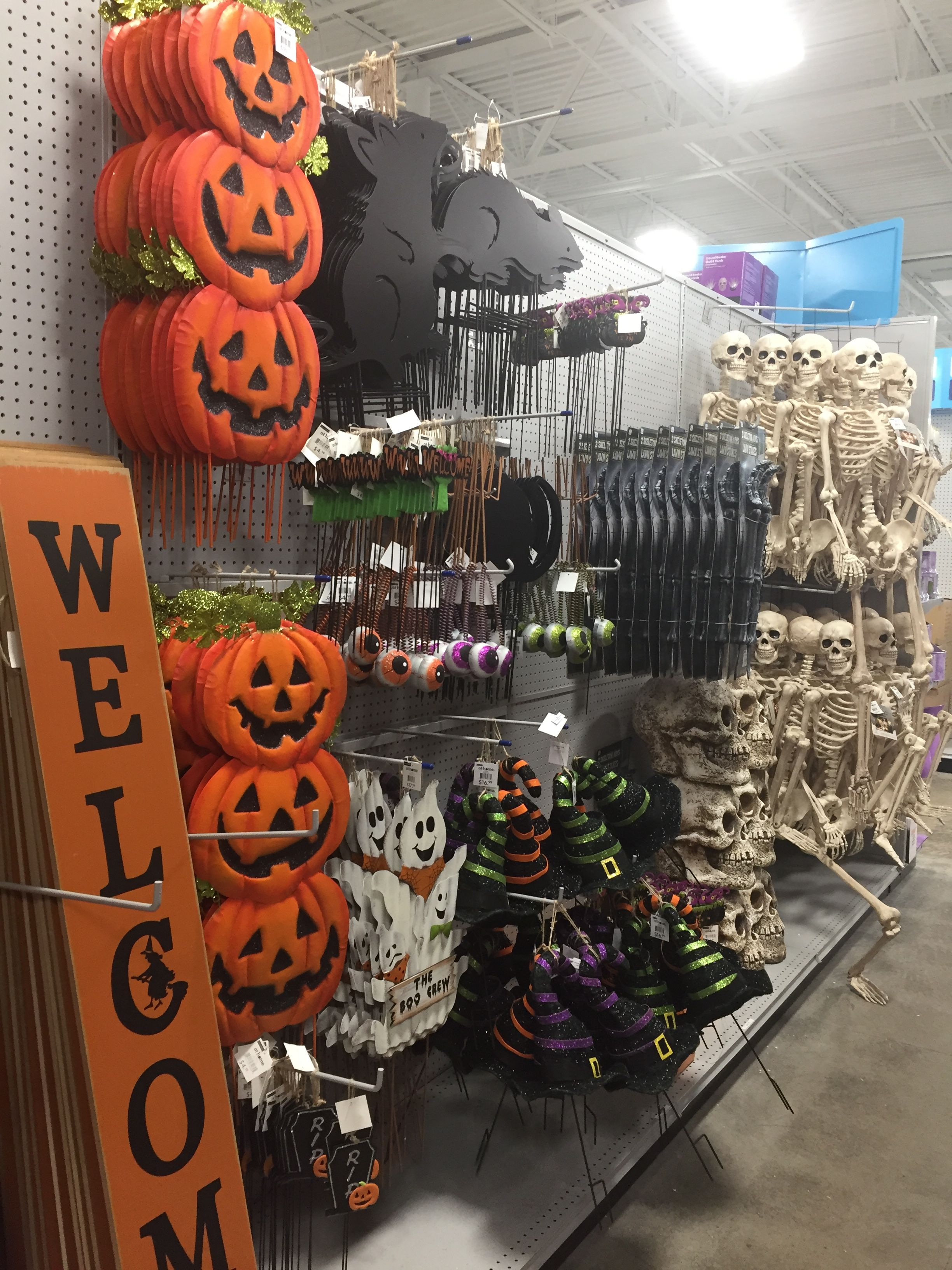 halloween decor from At Home stores Halloween
