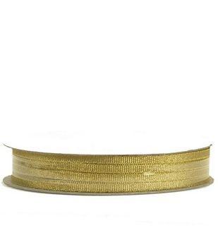 "Offray Metallic Fancy Ribbon 1/8""-10 Yds-2 Colors"