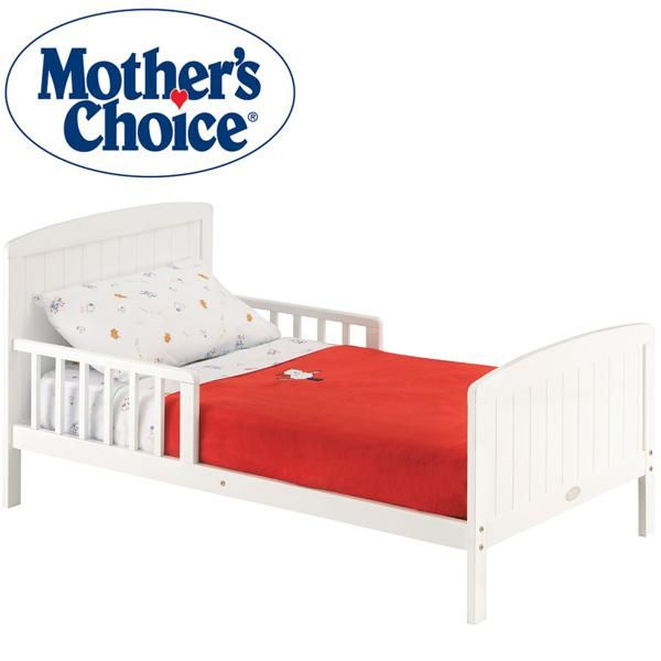 Mother S Choice Toddler Bed White