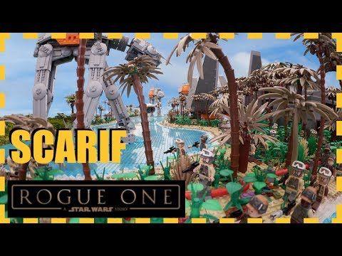 LEGO STAR WARS EPIC BATTLE ON SCARIF MOC ROGUE ONE