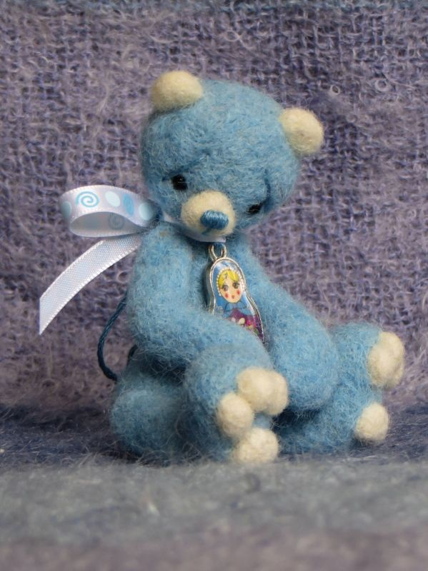 Anastasija, one of my latest little bears!