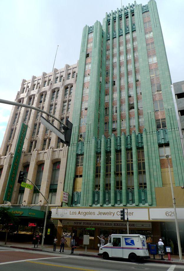 Art Deco Downtown Art Deco Buildings Art Deco Architecture Deco
