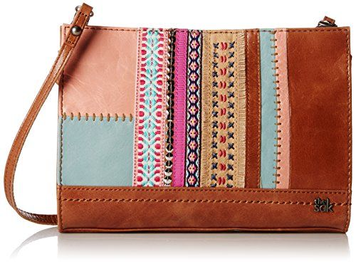 Women S Shoulder Bags The Sak Iris Demi Clutch Bag Ribbon Patch One Size