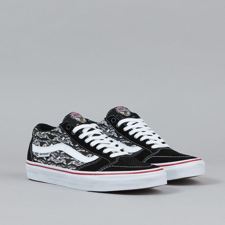 6d00ca1dce501d Vans Shoes x Anti Hero TNT SG Black Trujillo FREE POST Skateboard Sneakers