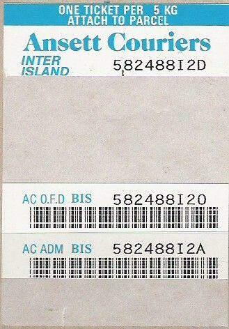 Ansett New Zealand, Ansett Couriers Label